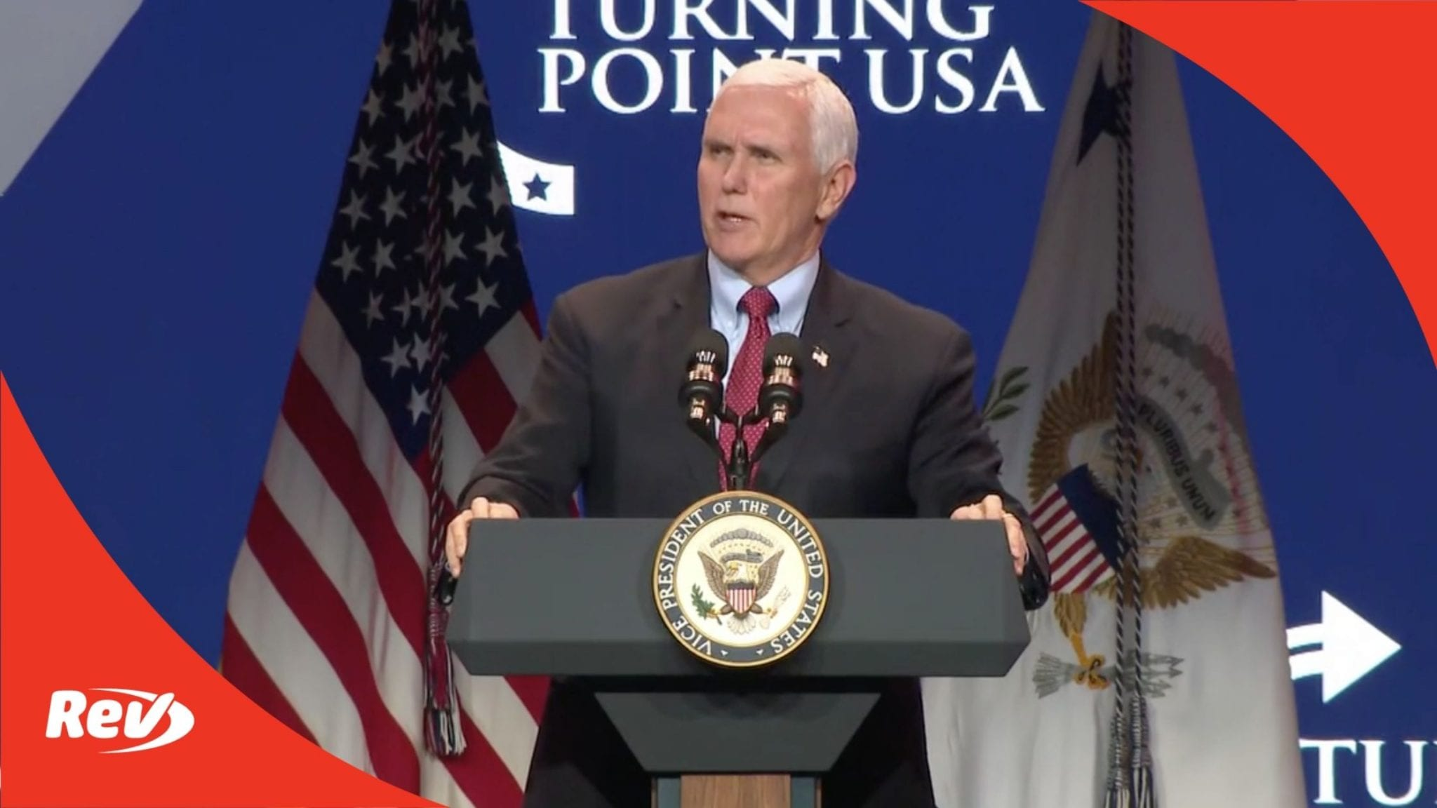Mike Pence Speech at Turning Point USA Event Transcript December 22