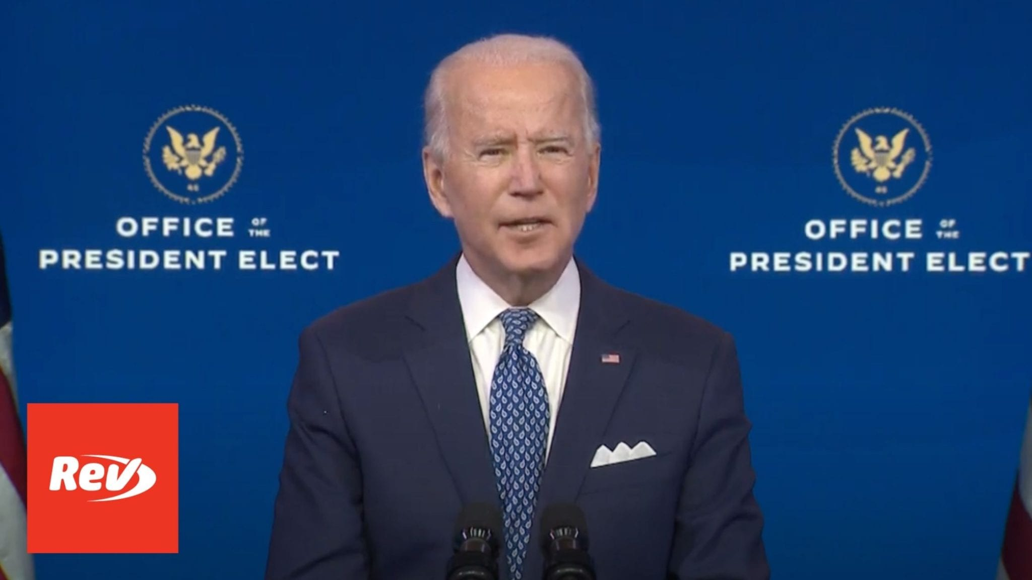 Joe Biden Delivers Remarks Before Christmas Holiday Transcript December 22
