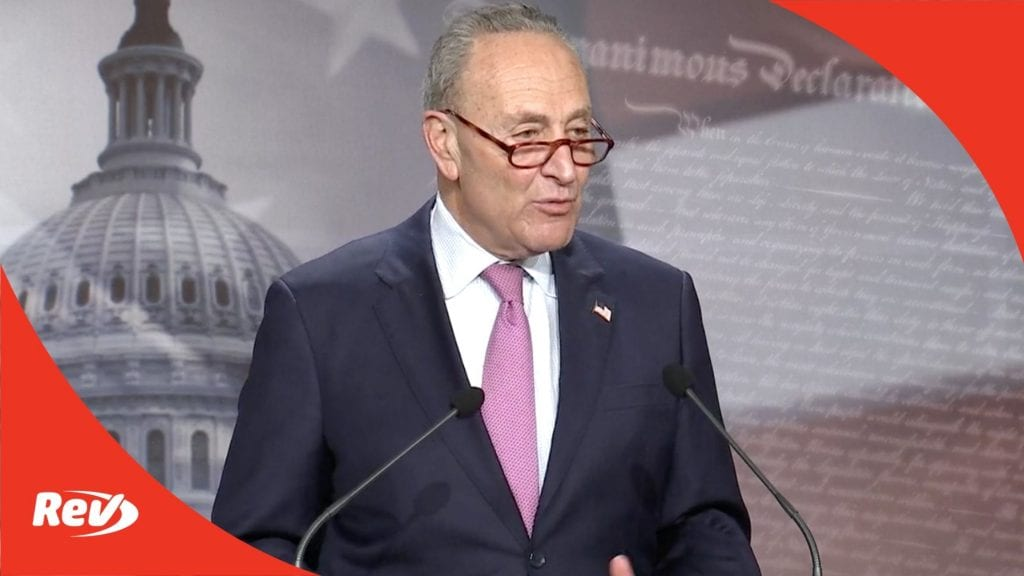 Chuck Schumer Press Conference Transcript December 1: Biden Cabinet Picks, Coronavirus Relief