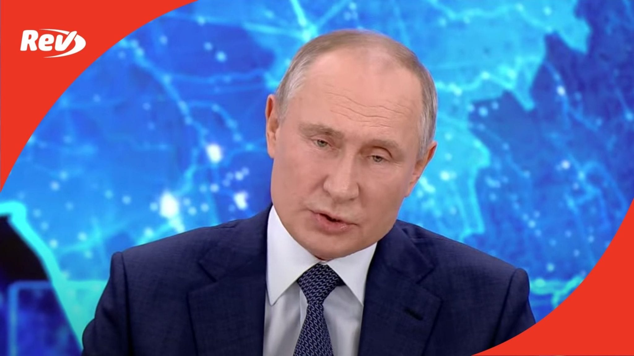 Vladimir Putin Annual News Conference in Moscow 2020