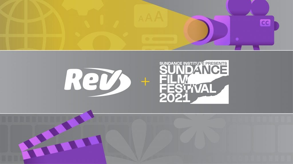 Rev Chosen as Official Captions Provider for Sundance Film Festival