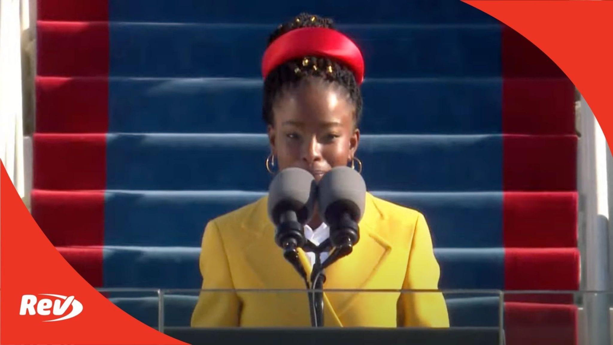 Amanda Gorman Inauguration Poem