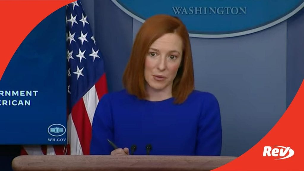 Biden Administration First White House Press Conference