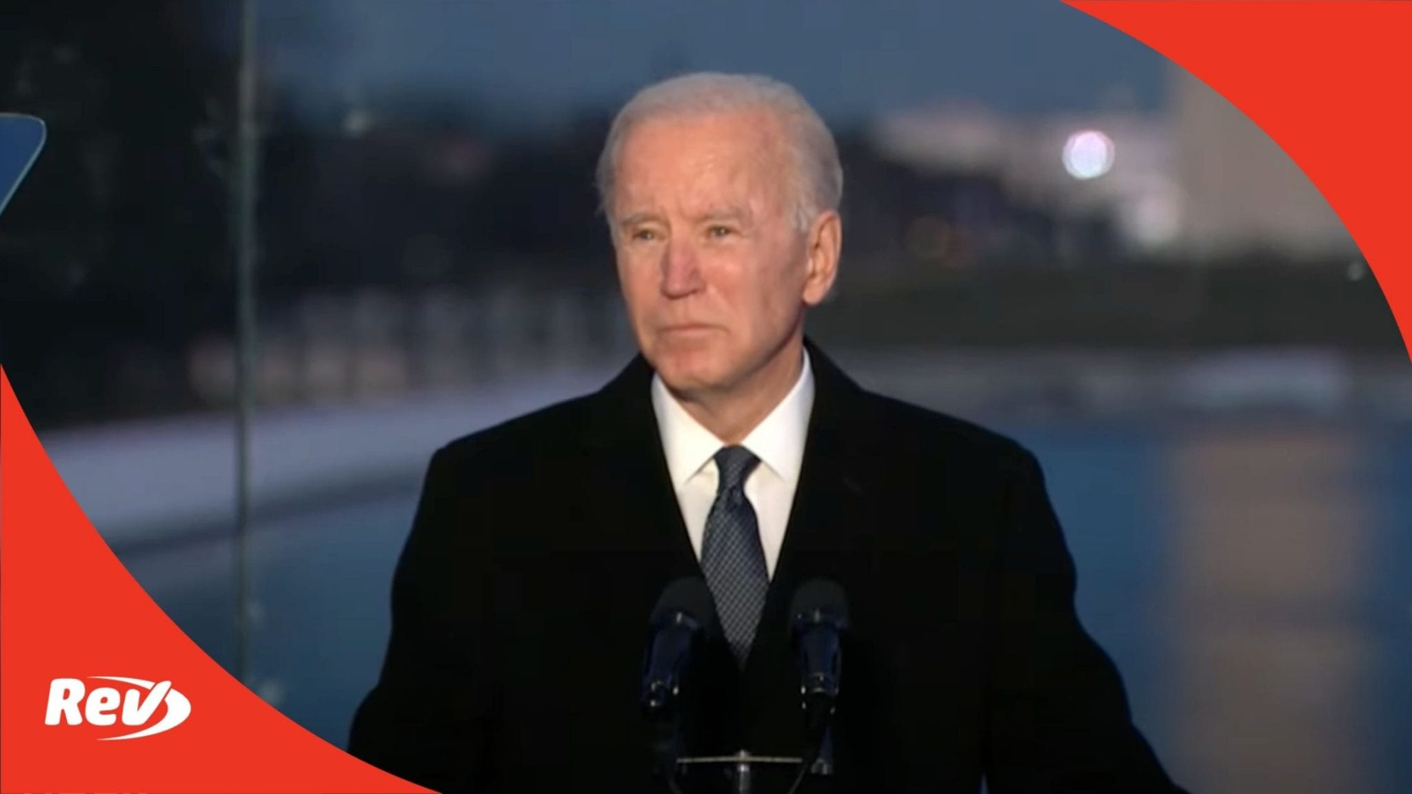 Biden & Harris speak at memorial to COVID-19