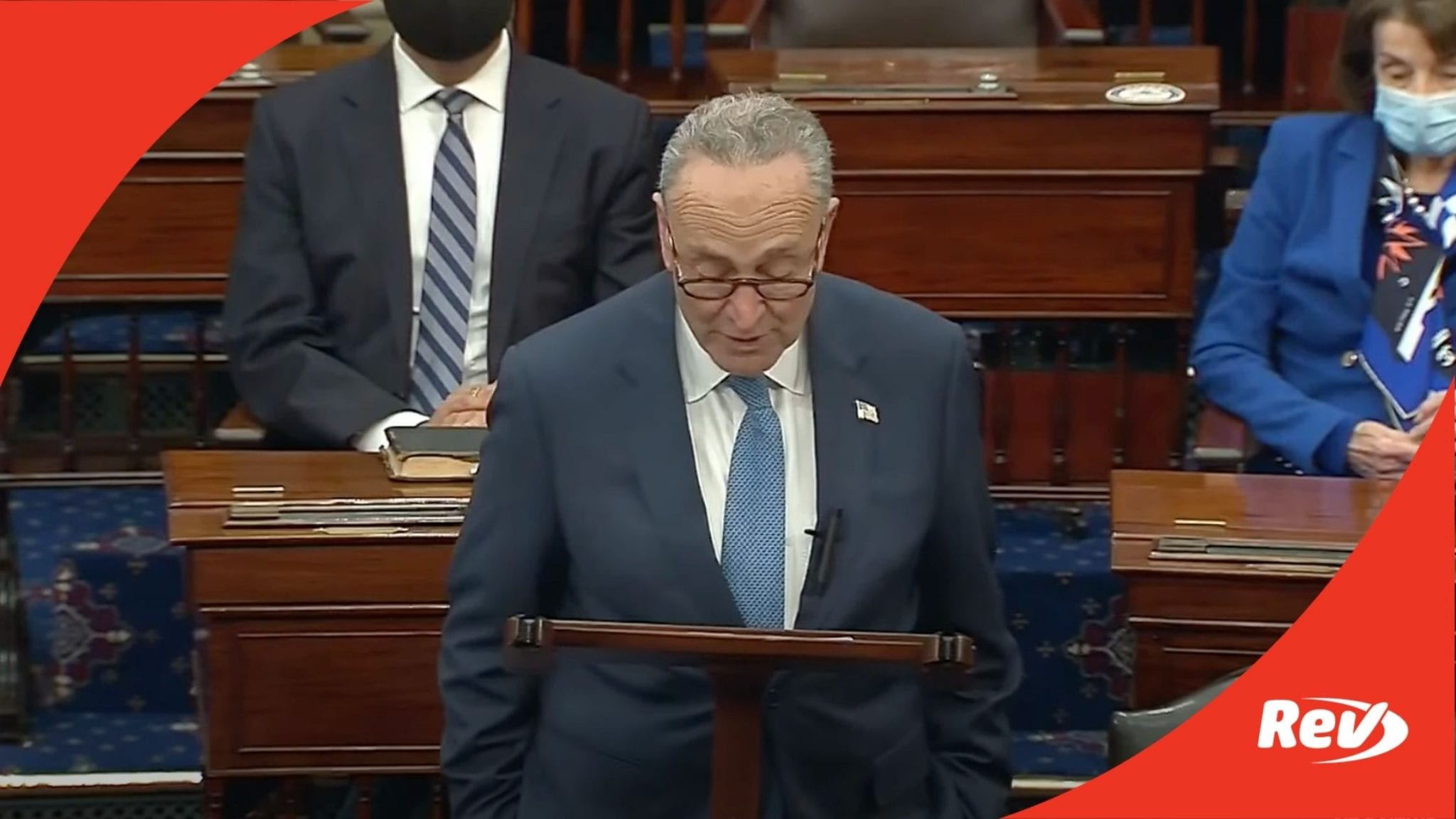Chuck Schumer First Speech as Majority Leader