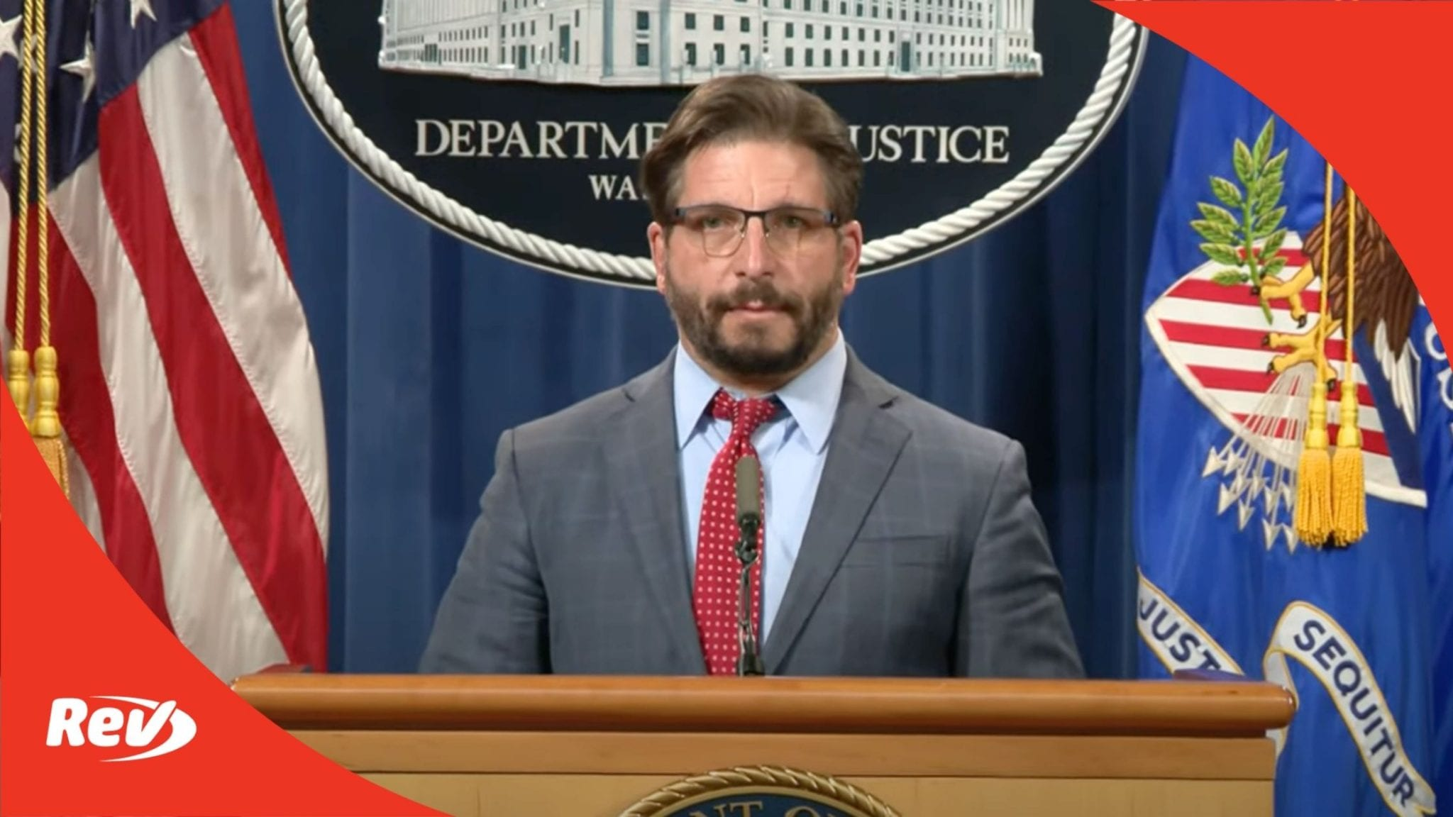 FBI and Justice Department Press Conference on Capitol Riots