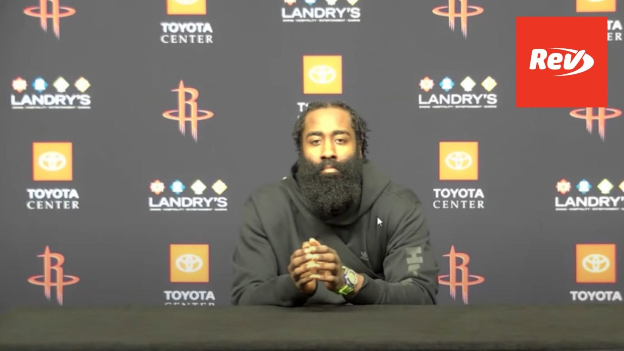 James Harden Press Conference Rockets Can't Be Fixed