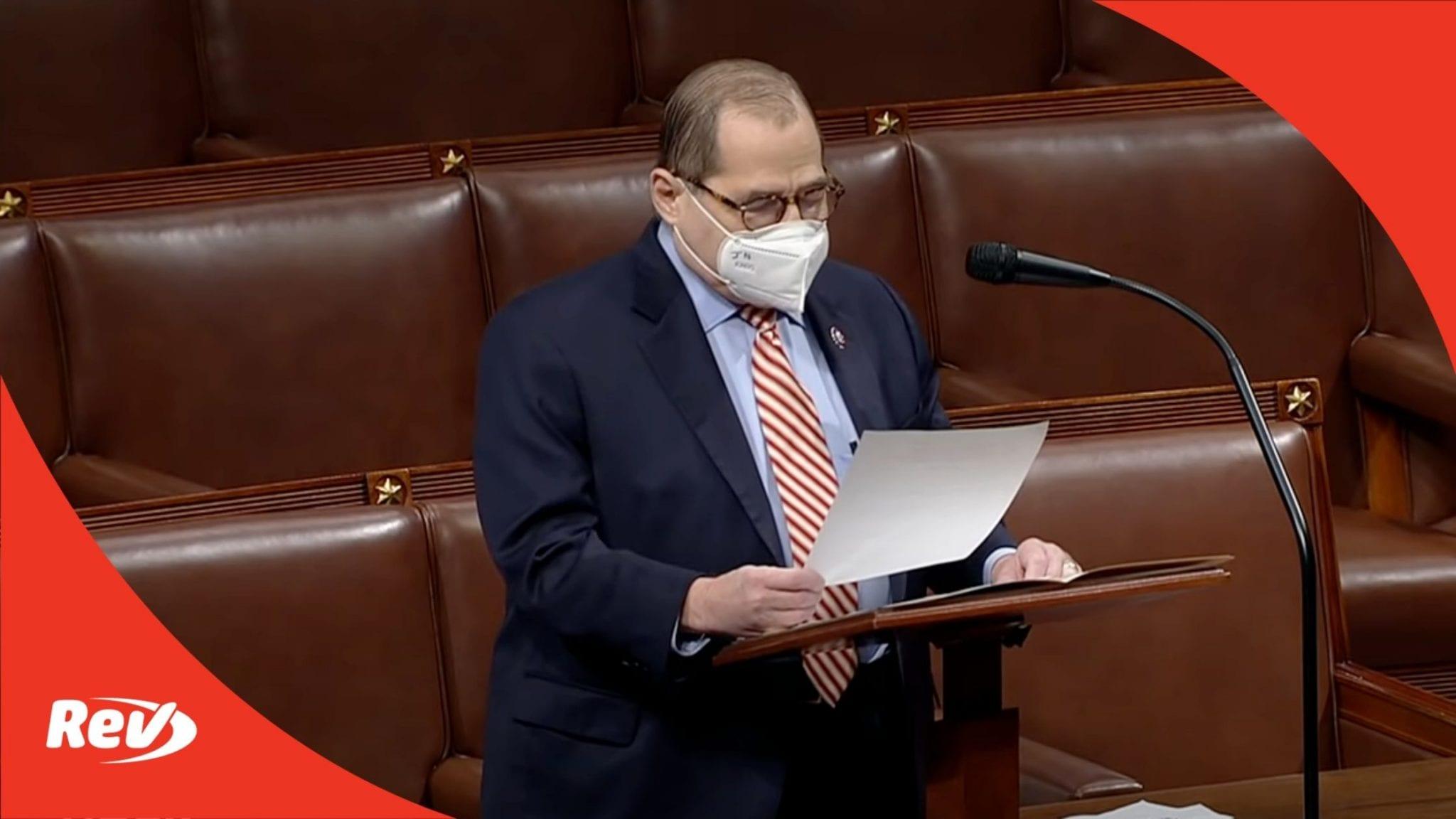 Jerry Nadler 2nd Impachment Speech Transcript