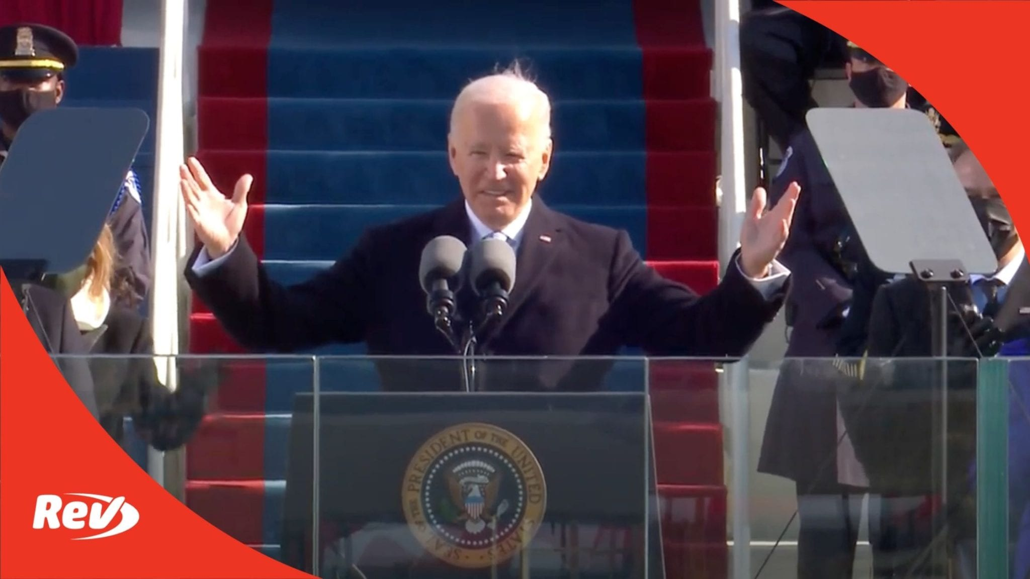 Joe Biden First Speech as President Transcript