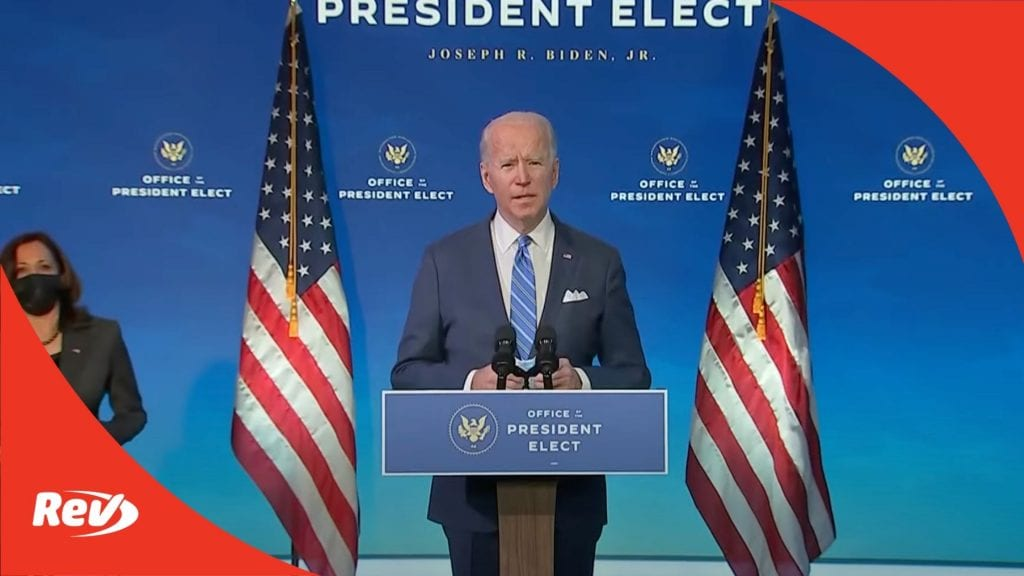 Joe Biden Speech COVID 19 Relief Package