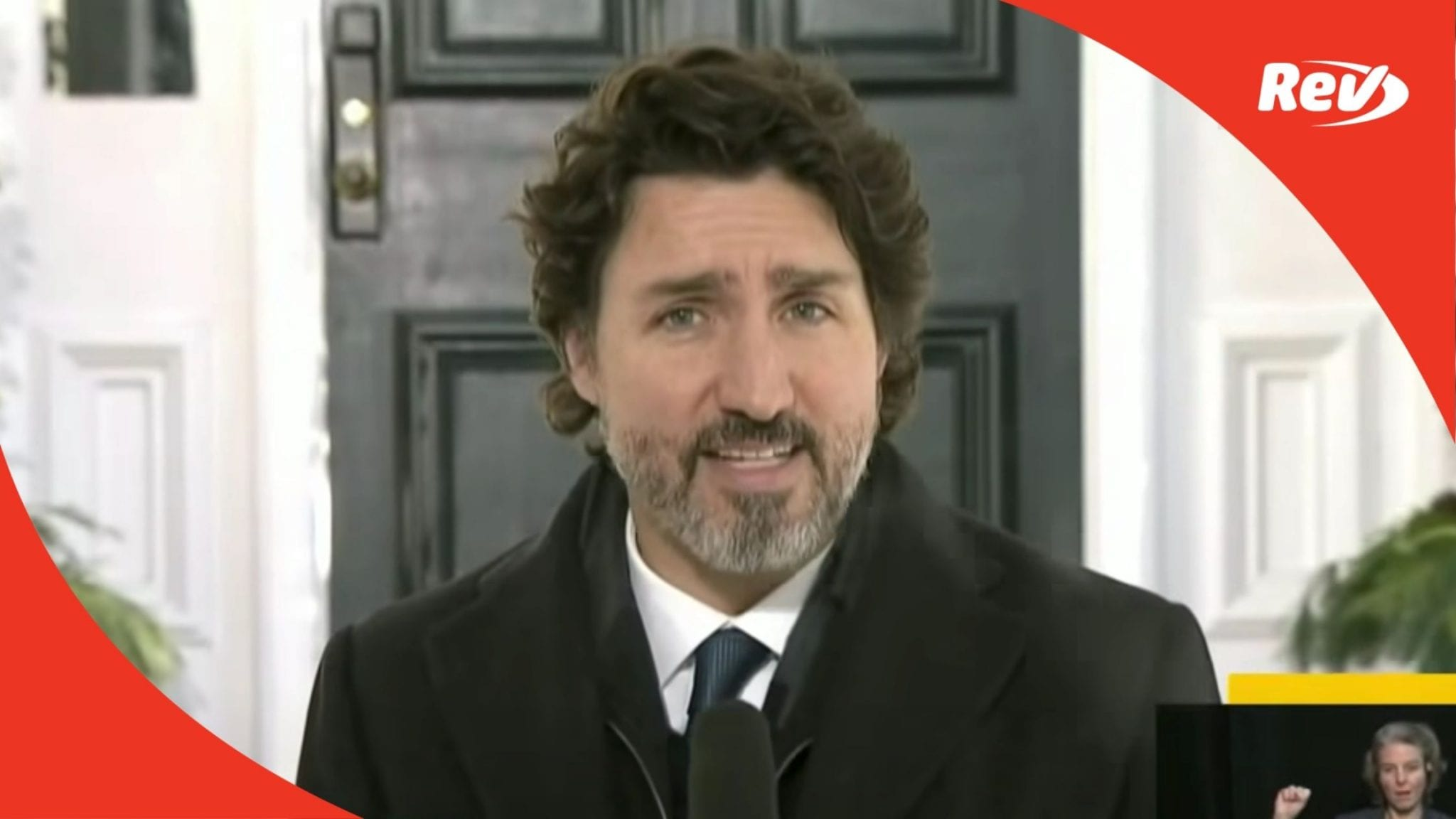 Justin Trudeau Press Conference January 8 Capitol Riot