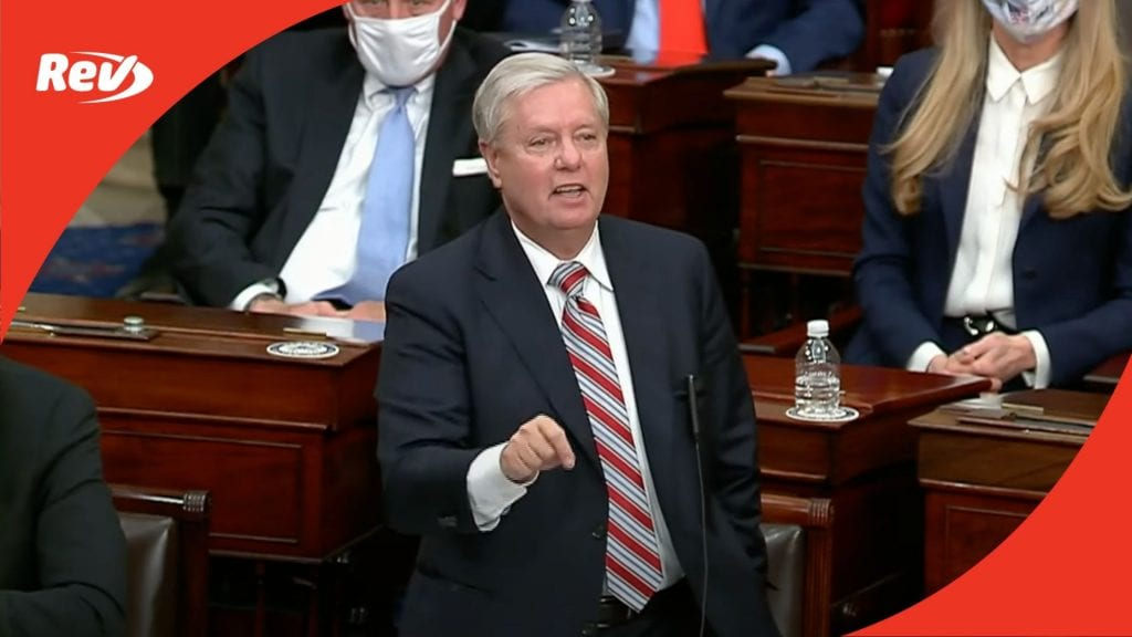 Lindsey Graham Senate Floor Speech