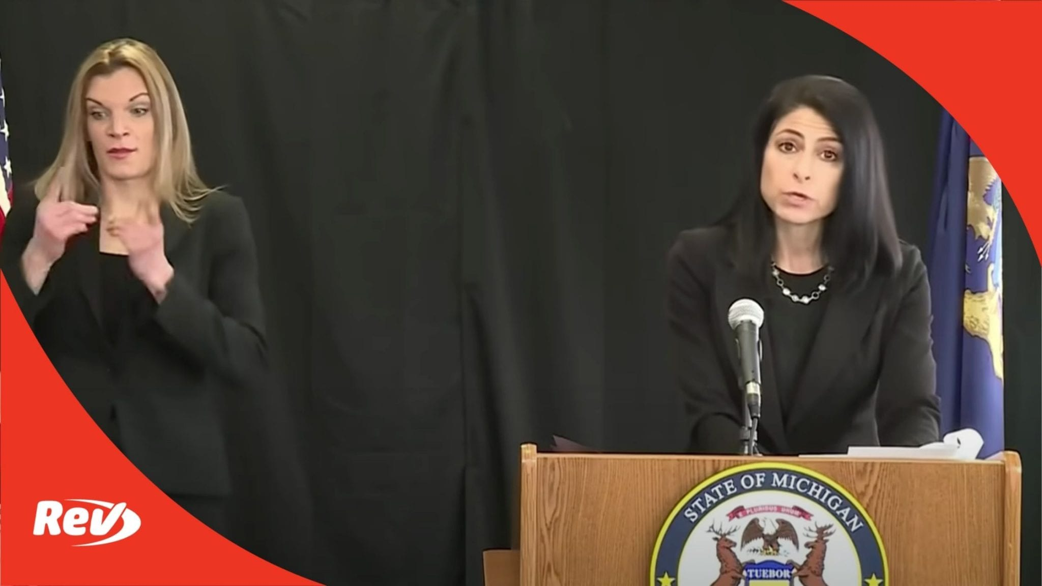 Michigan Attorney General Press Conference Flint Water Crisis
