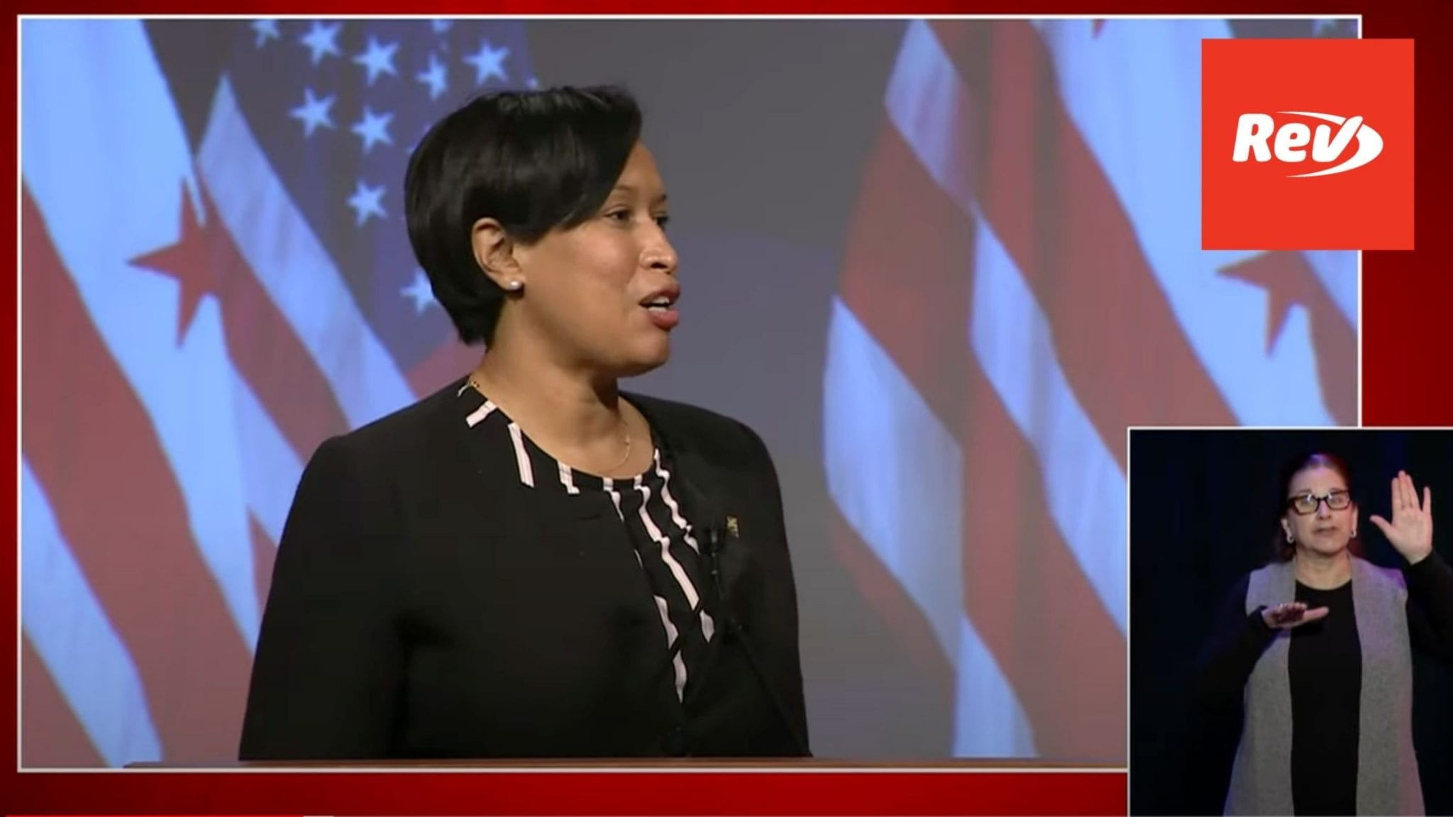 Muriel Bowser Press Conference January 15