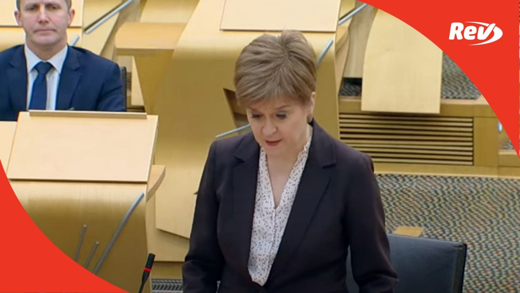 Nicola Sturgeon orders people in Scotland to stay at home
