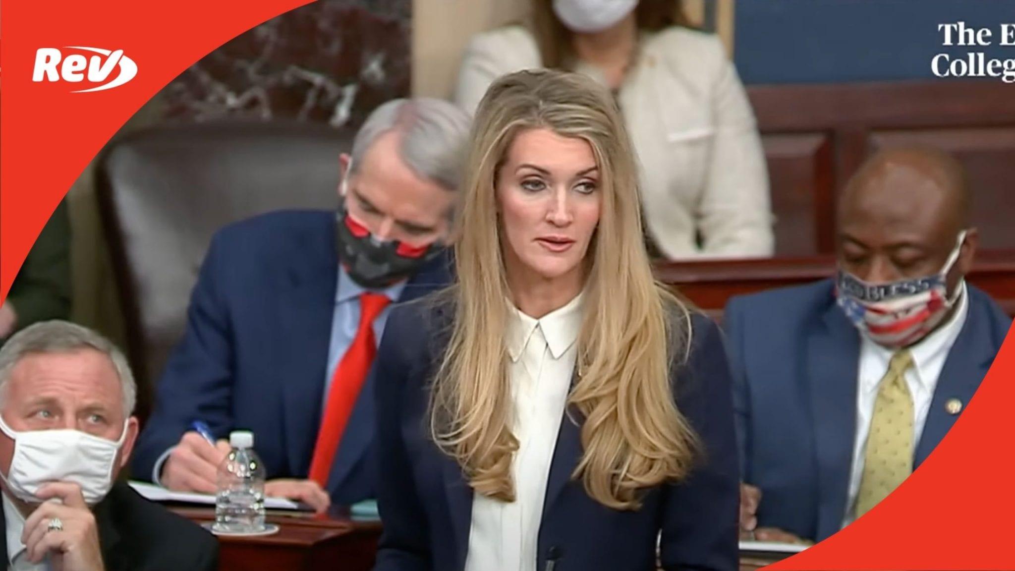 Senator Kelly Loeffler Rescinds Objection