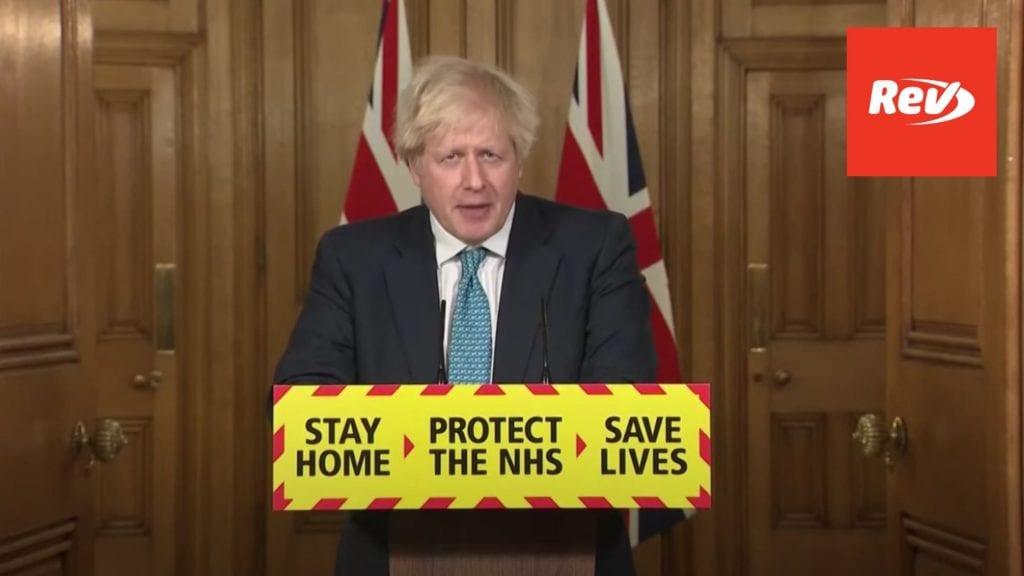Boris Johnson COVID-19 Lockdown Press Conference Transcript January 7