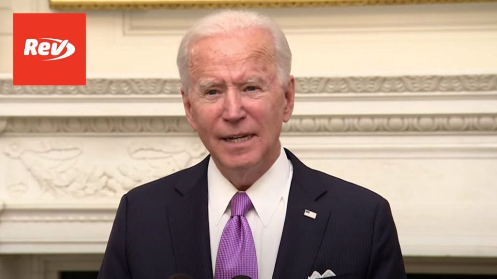 Joe Biden Speech on COVID-19 Response Transcript January 21