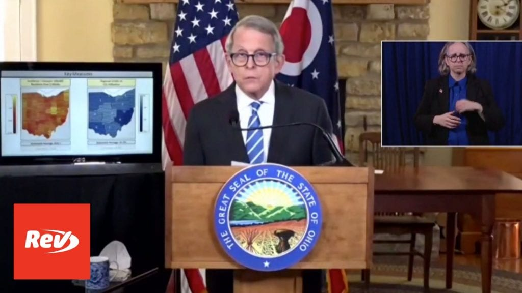 Ohio Gov. Mike DeWine COVID-19 Press Conference Transcript January 21