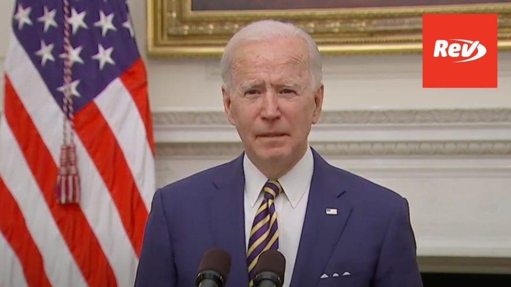 Joe Biden Speech on COVID-19 Economic Relief Transcript January 22