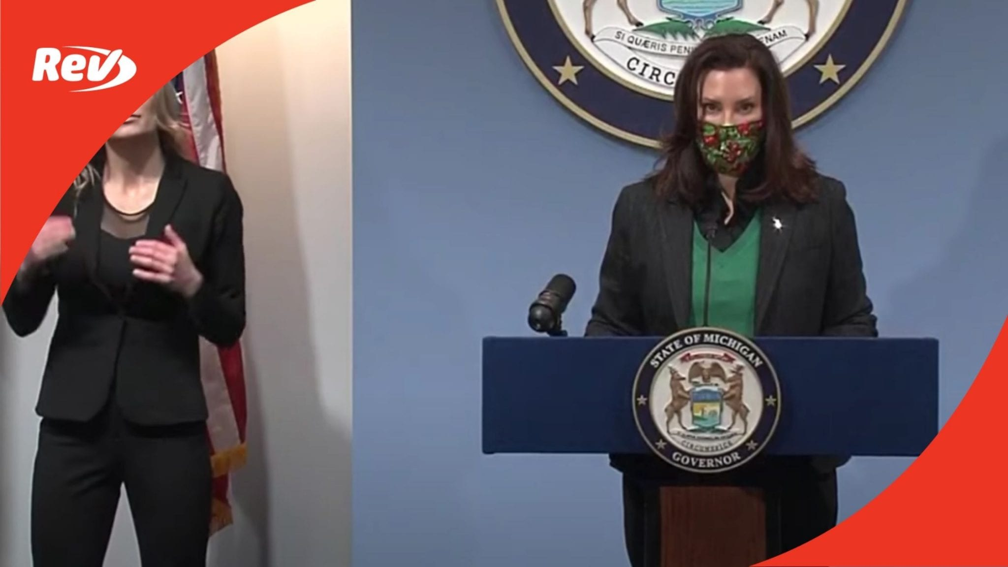 Michigan Governor Gretchen Whitmer COVID-19 Press Conference Transcript January 22