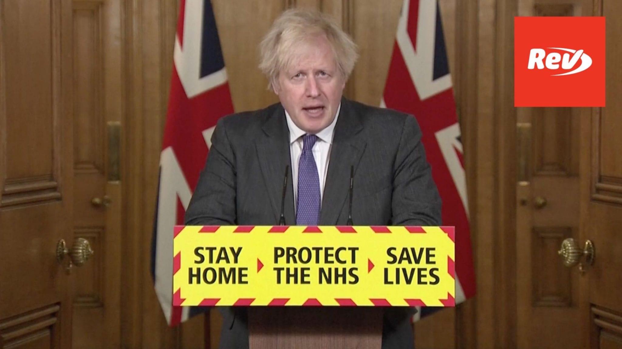 Boris Johnson COVID Press Conference Transcript January 22: Update on New Variant