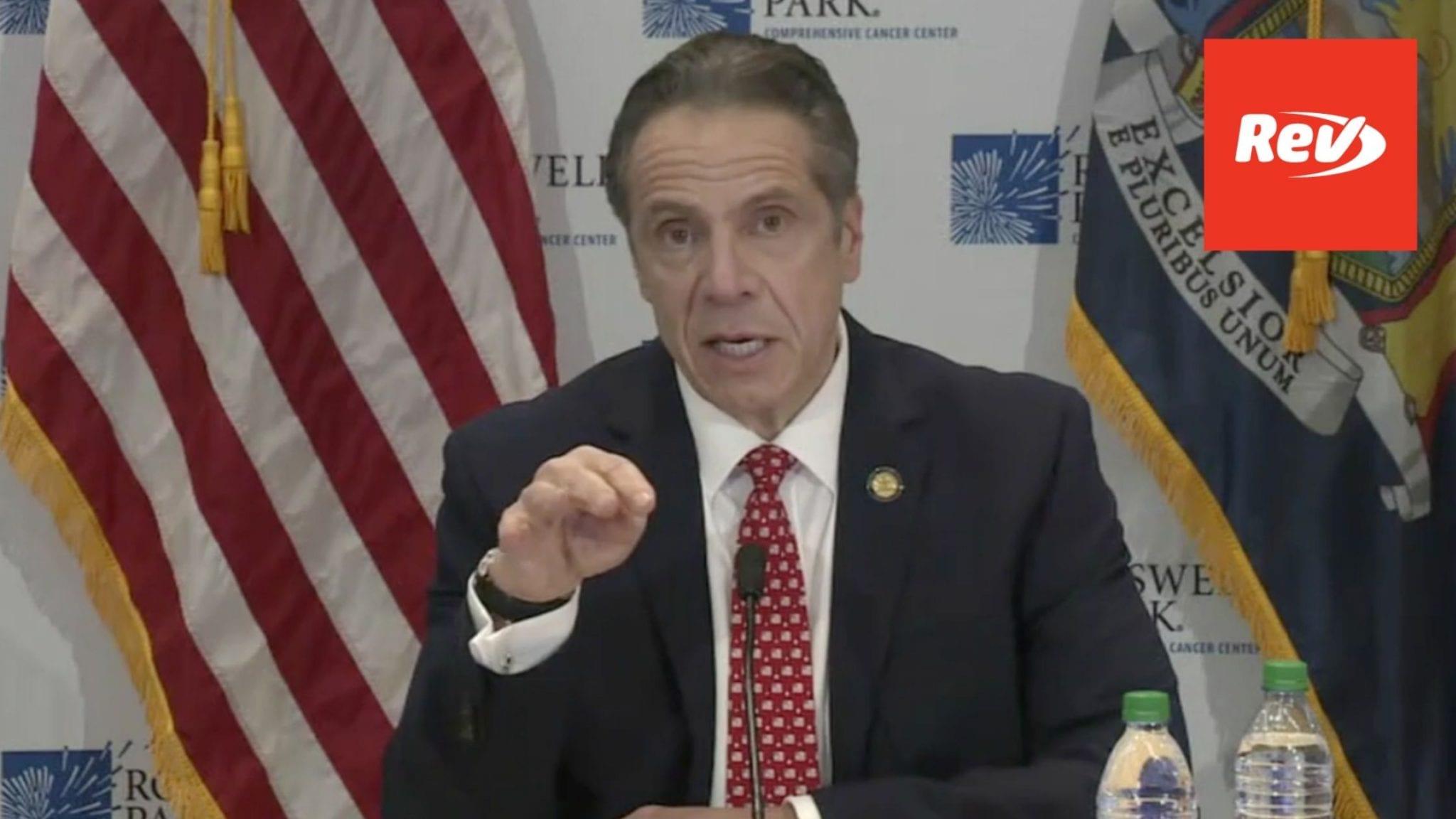 New York Gov. Andrew Cuomo COVID-19 Press Conference Transcript January 25