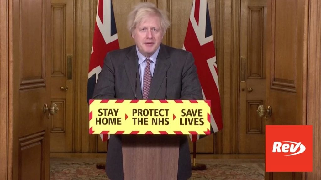Boris Johnson COVID Press Conference Transcript January 26: UK Deaths Surpass 100,000
