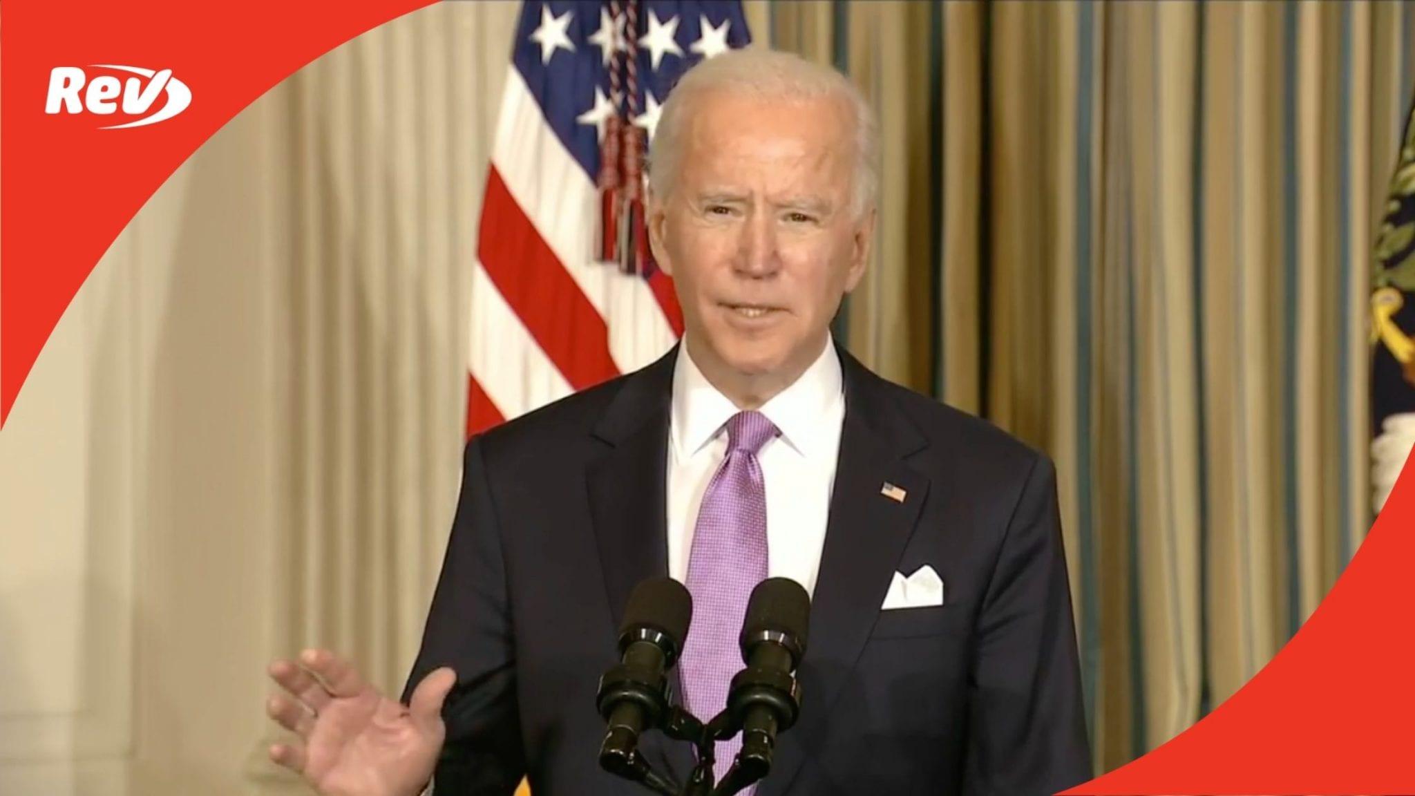 Joe Biden Speech on Executive Orders for Racial Equity Transcript January 26