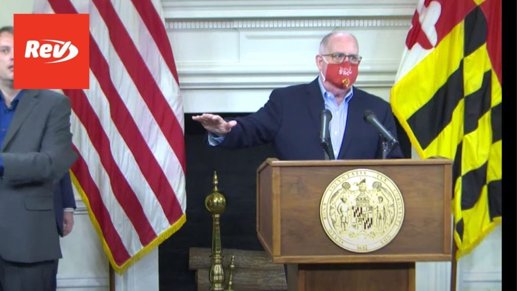 MD Governor Larry Hogan COVID Press Conference Transcript January 26