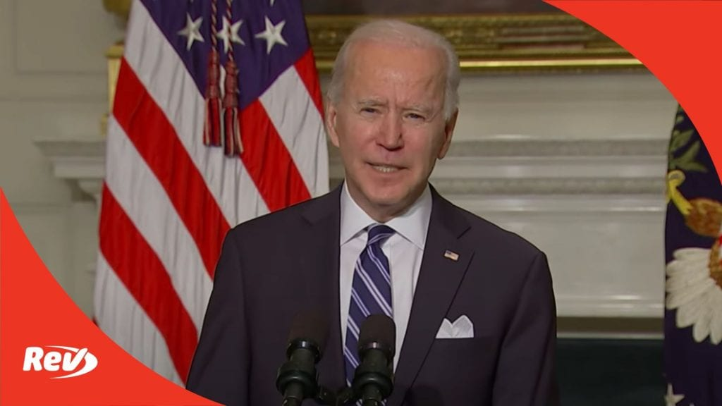 Joe Biden Speech on Climate Change Agenda Transcript January 27