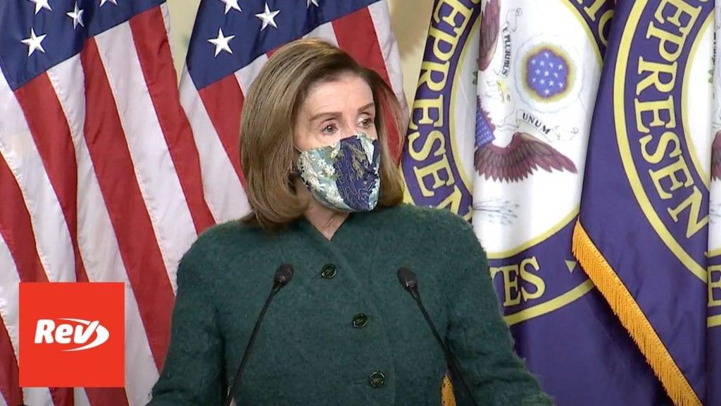 House Speaker Nancy Pelosi Weekly Press Conference Transcript January 28