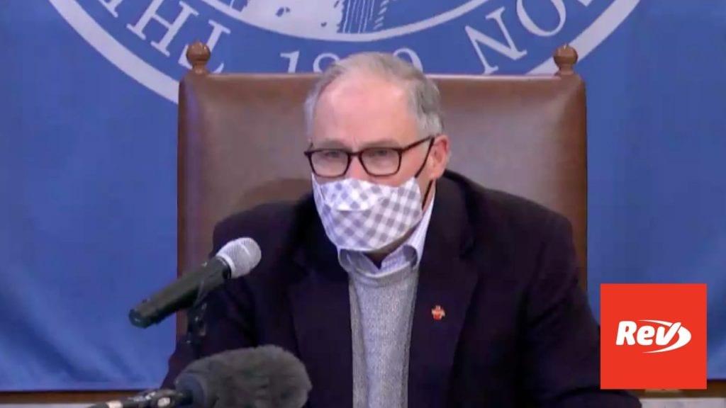 Washington Gov. Jay Inslee COVID-19 Press Conference Transcript January 28