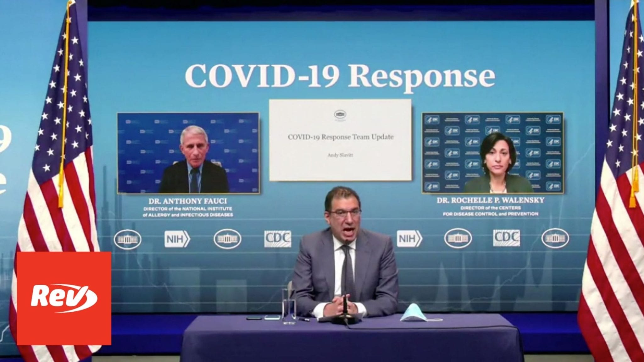 White House COVID-19 Response Team, Dr. Fauci Press Conference Transcript January 29