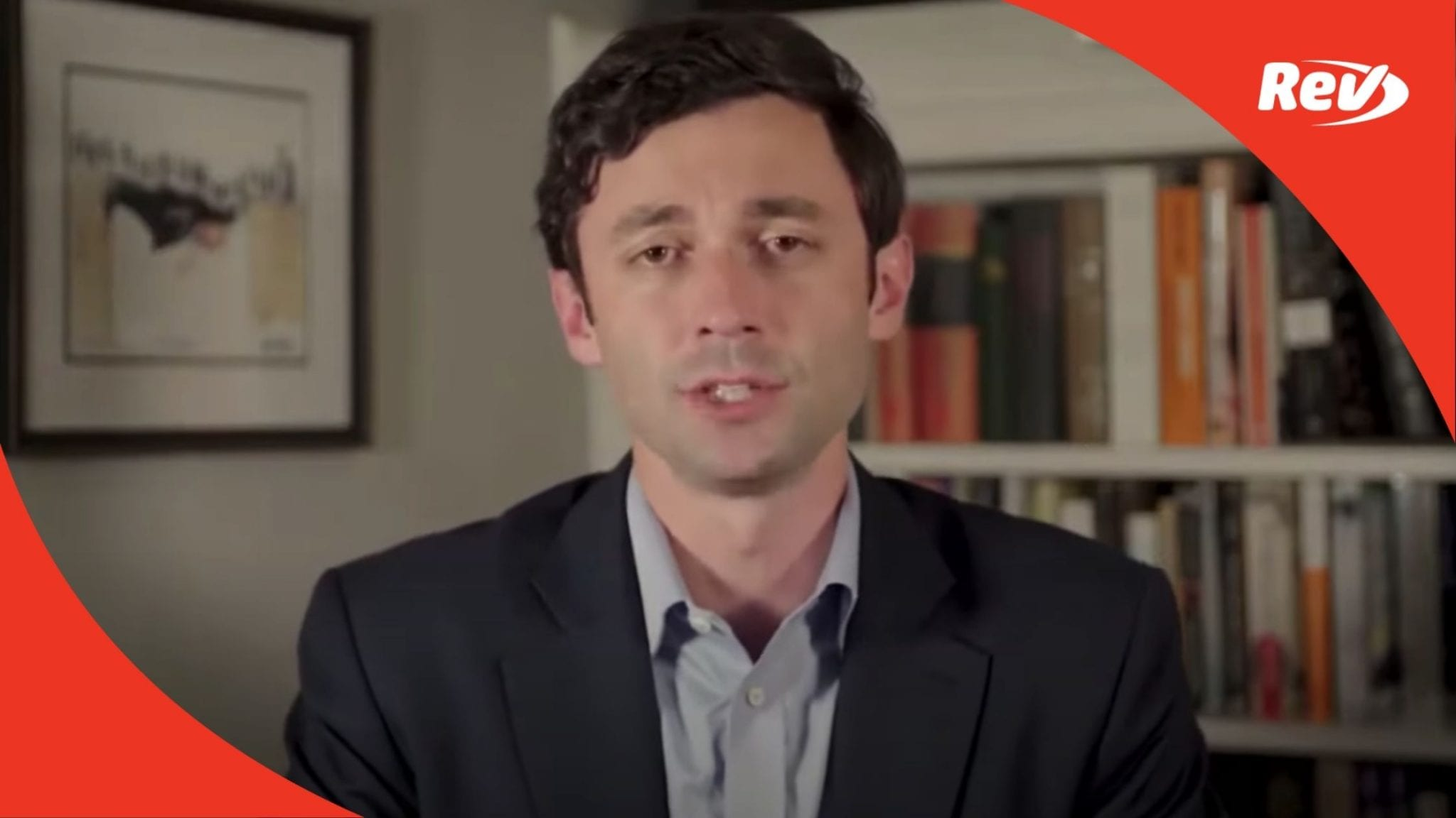 Jon Ossoff Election Results Speech Transcript January 6