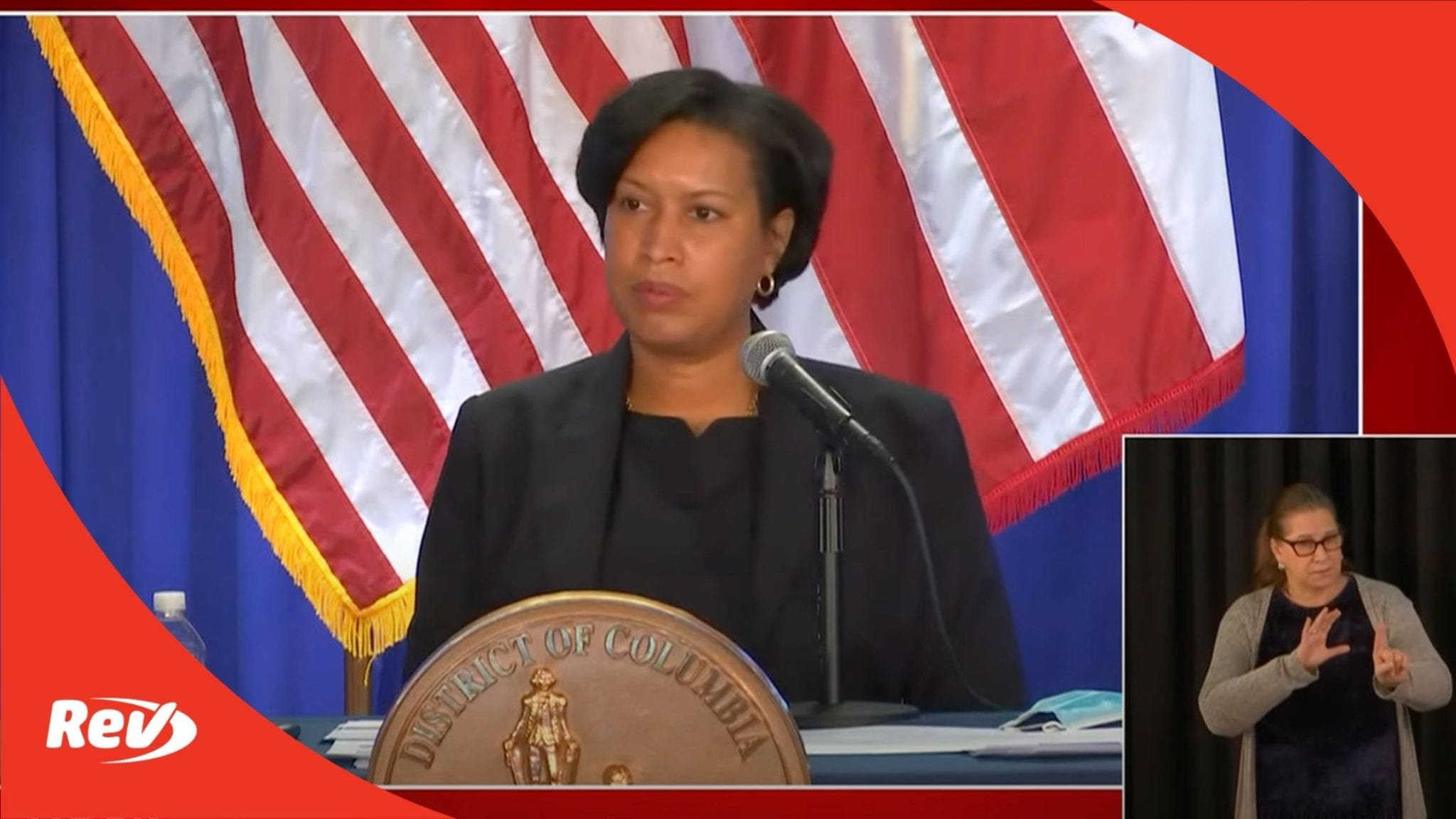 Washington D.C. Mayor Muriel Bowser Press Conference Jan 11