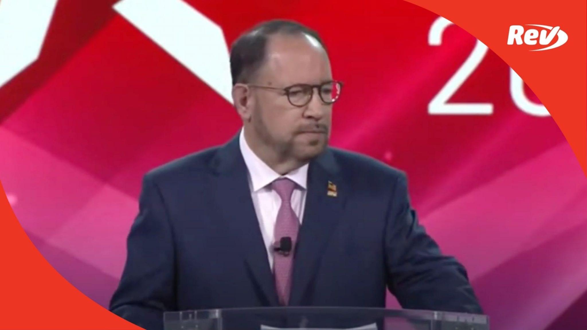 Goya Foods CEO Speech at CPAC