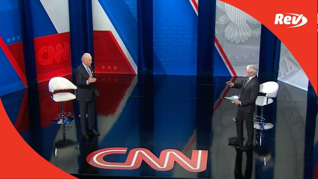 Joe Biden CNN Town Hall Transcript February 16
