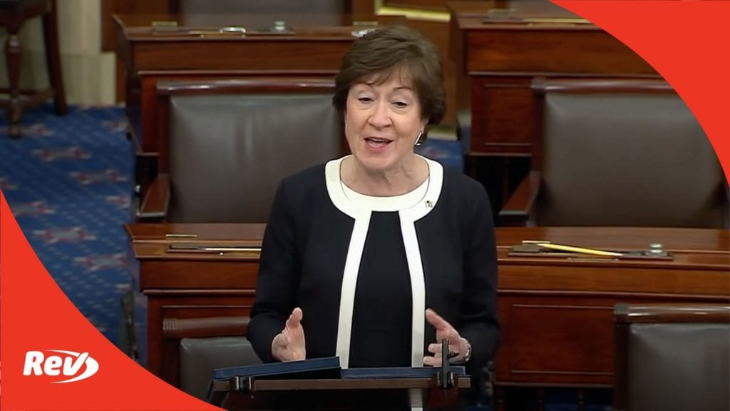Susan Collins Speech After Vote to Convict