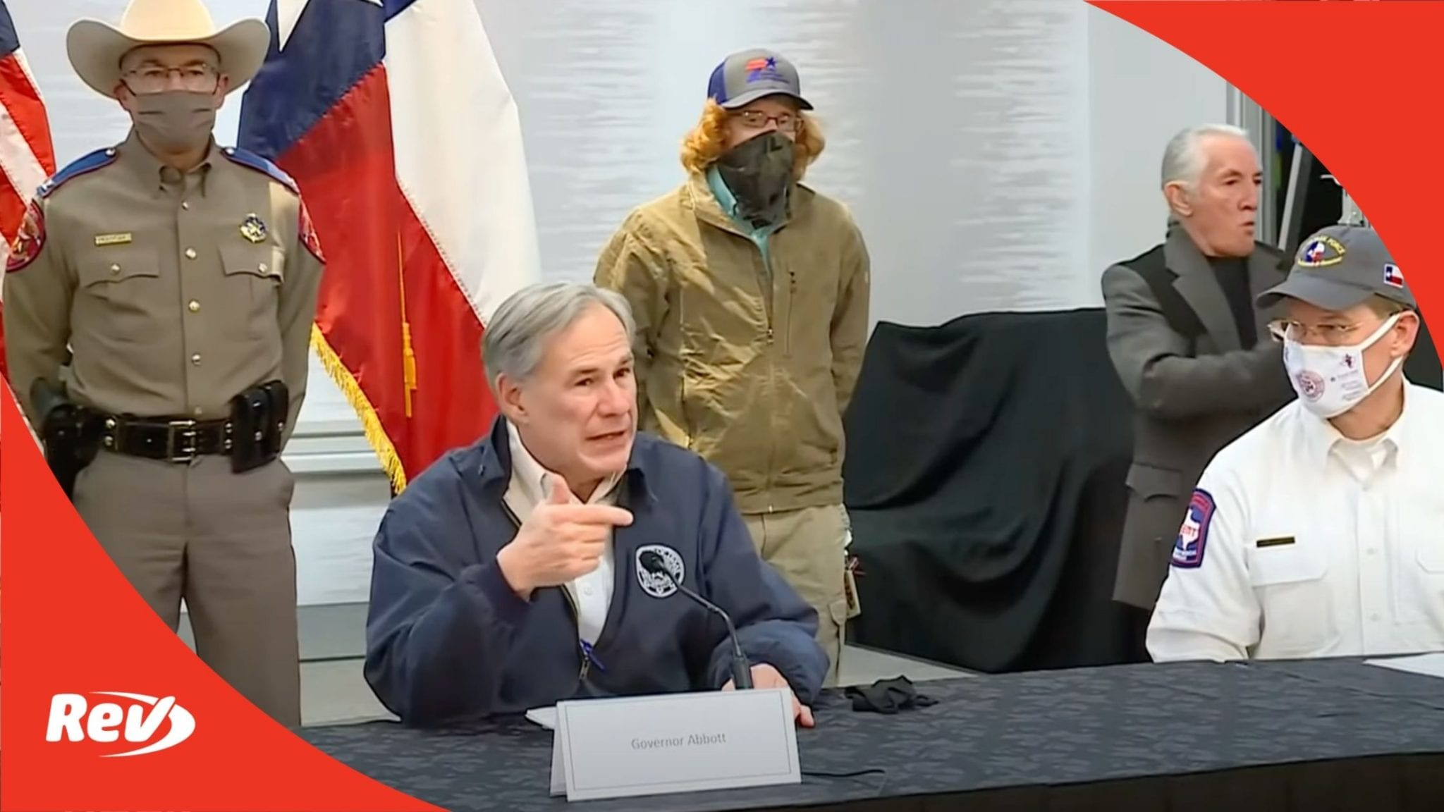 Texas Governor Greg Abbott Update on Power Outages