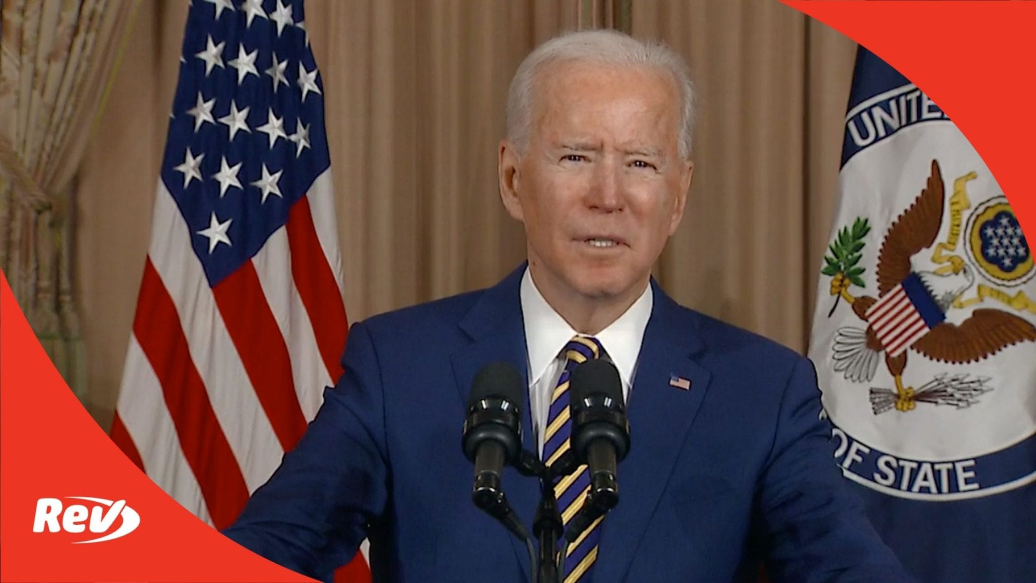 Joe Biden Speech on Foreign Policy Transcript February 4