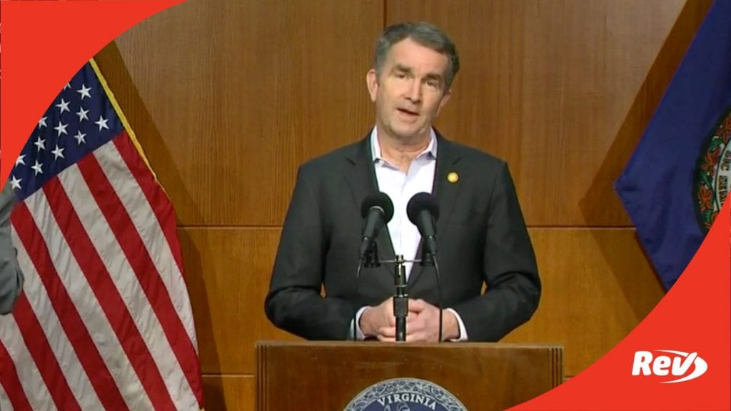 Gov. Ralph Northam Virginia COVID-19 Press Conference Transcript February 24