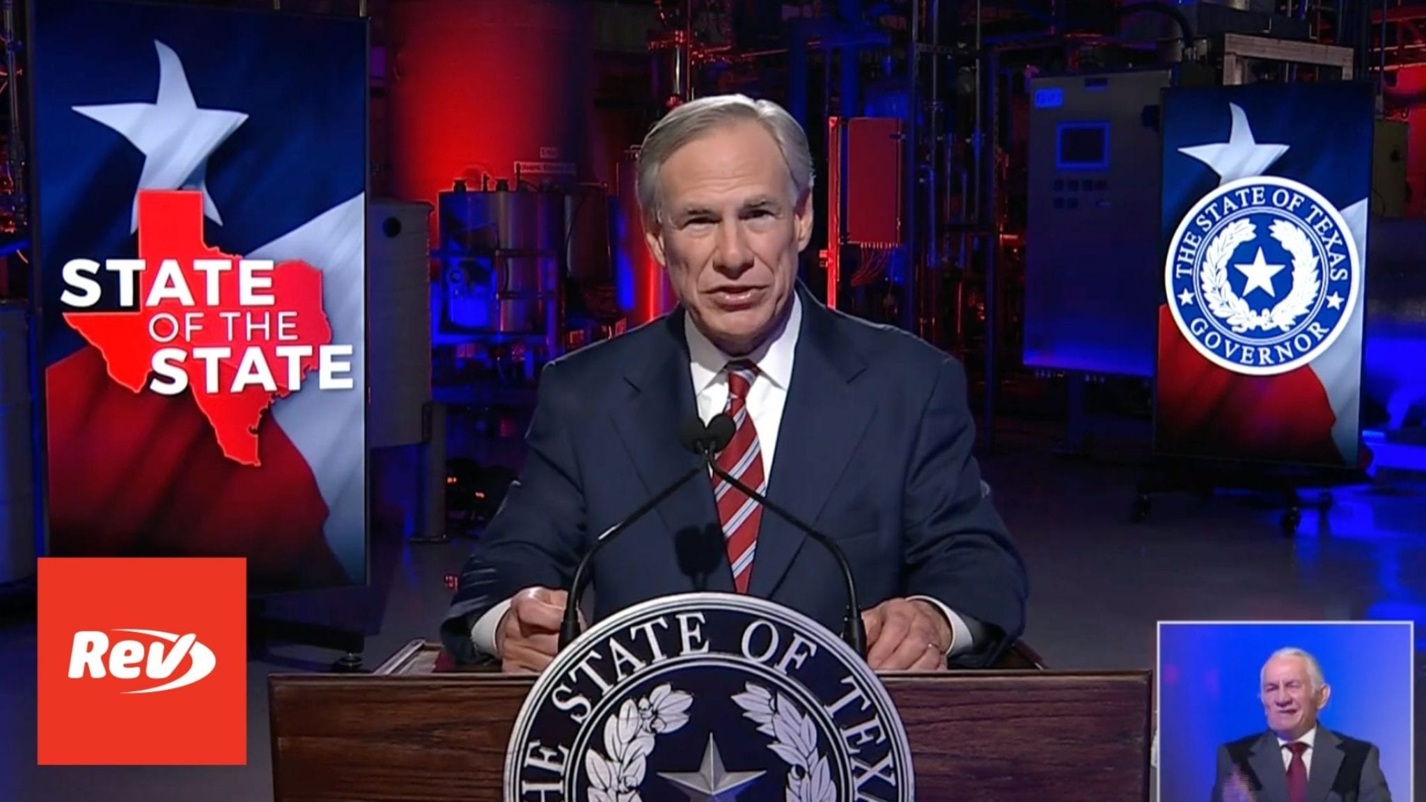 Greg Abbott State of the State Texas 2021