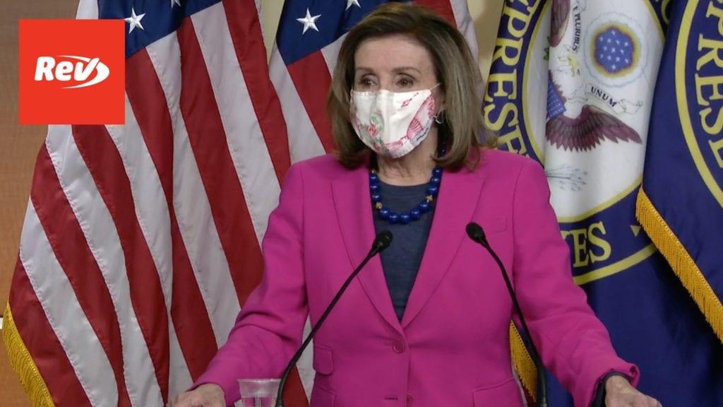 House Speaker Nancy Pelosi Weekly Press Conference Transcript February 25