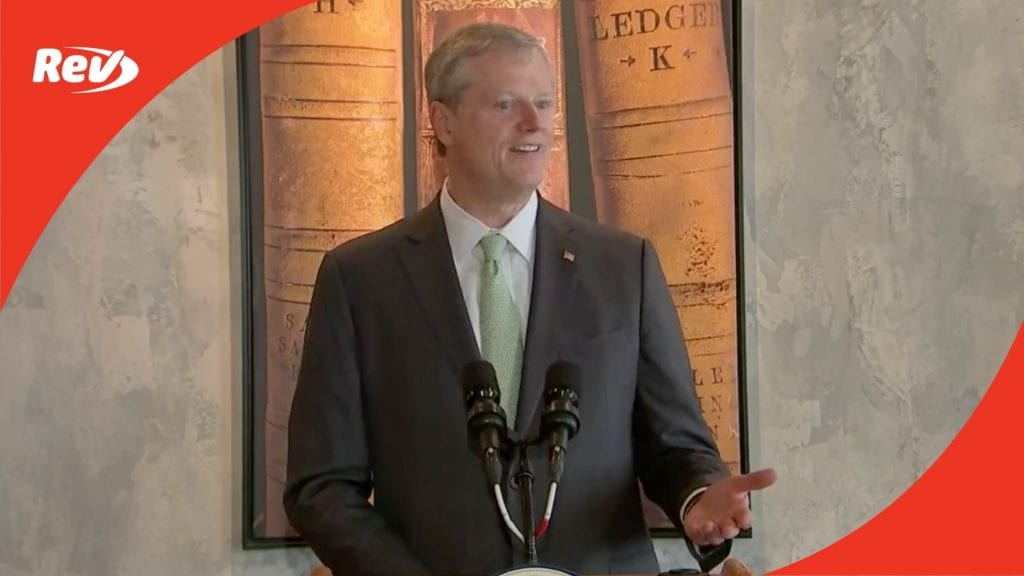 Massachusetts Governor Charlie Baker Press Conference Transcript February 25