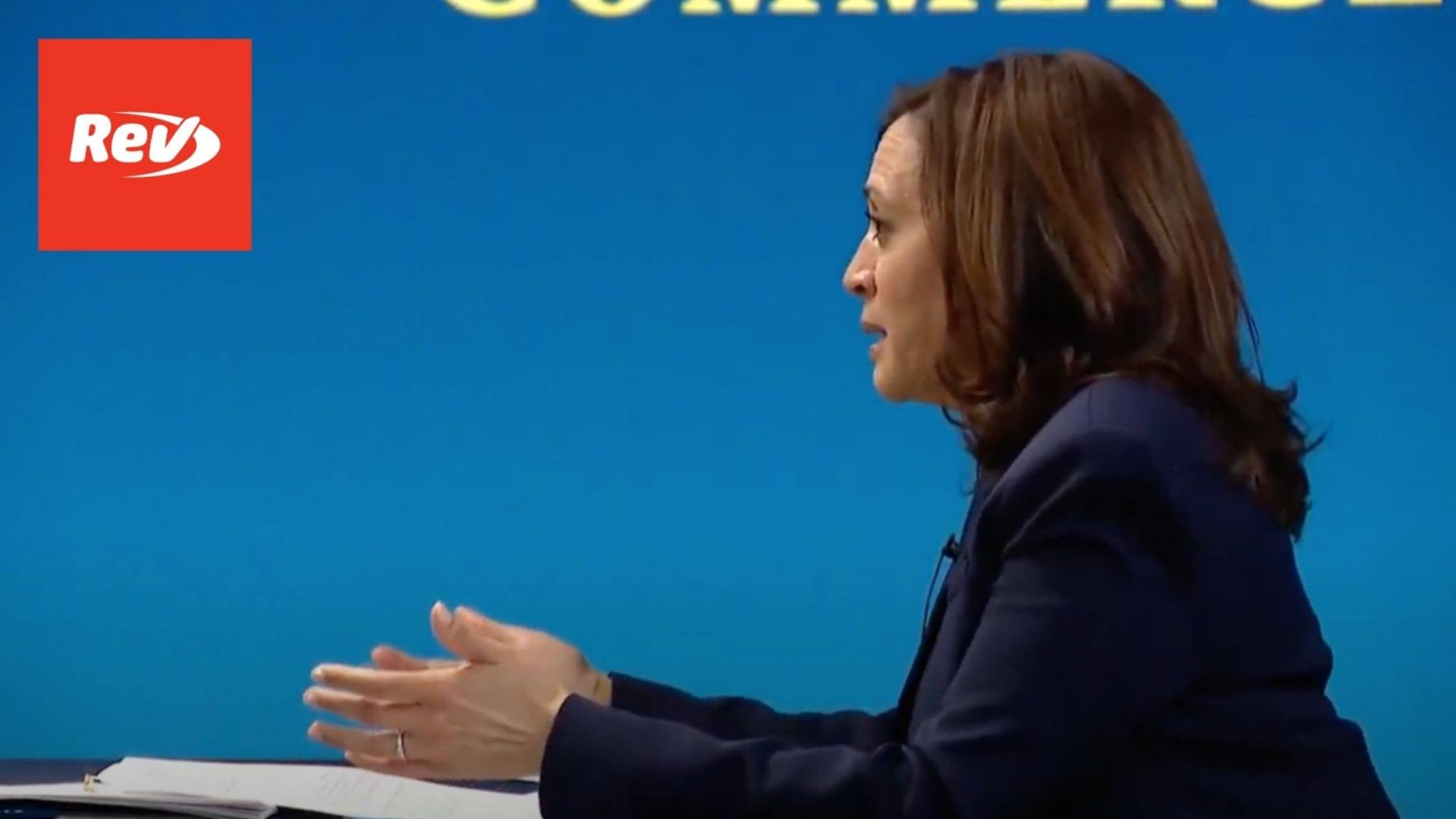 Kamala Harris & Janet Yellen Meeting with Black Chambers of Congress Transcript February 5