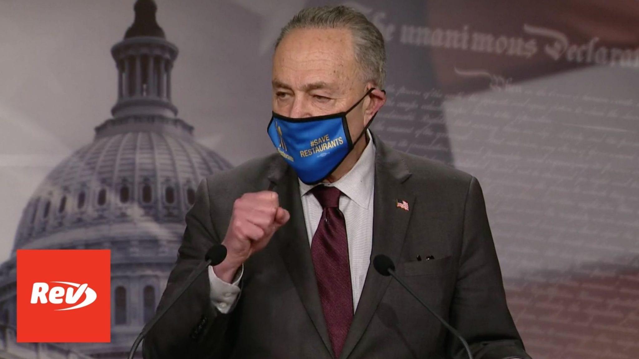 Senate Majority Leader Chuck Schumer Press Conference Transcript February 23