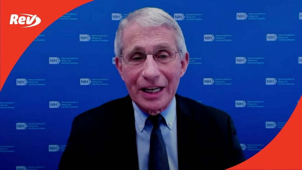 White House COVID-19 Task Force, Dr. Fauci Press Conference Transcript February 26