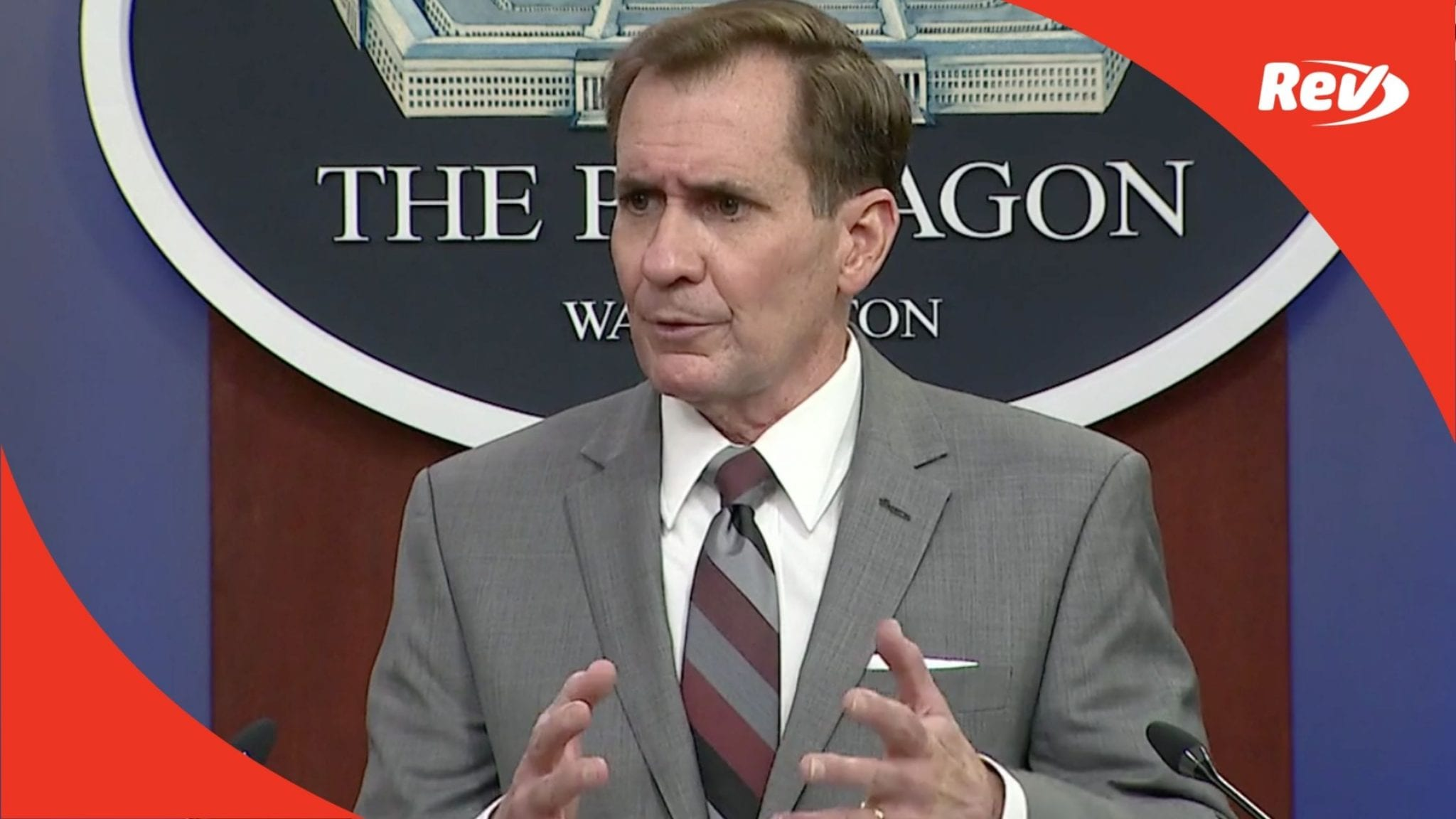 Pentagon Press Secretary John Kirby Press Briefing Transcript April 19
