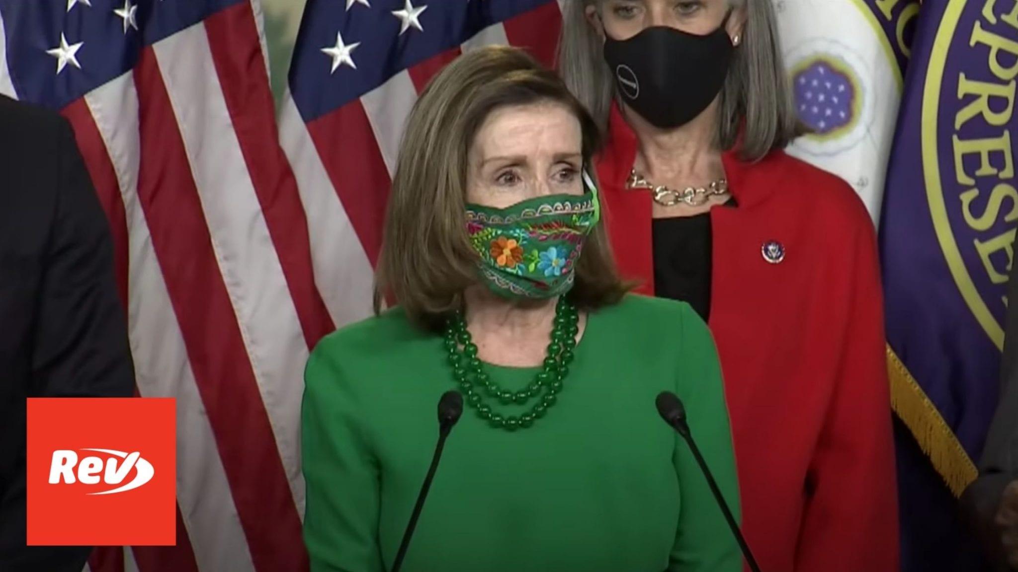 Nancy Pelosi House Democrats Press Conference on COVID-19 Relief Bill Transcript February 26